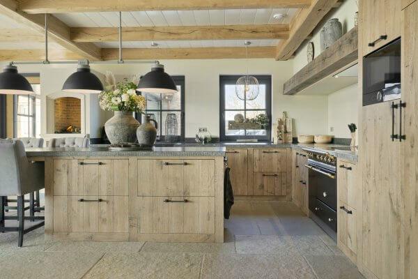Hoge kwaliteit handgemaakte keuken