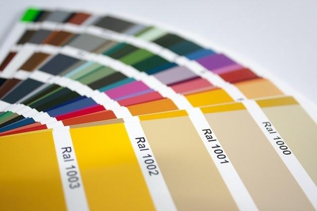 Kleurenwaaier landelijke kleur