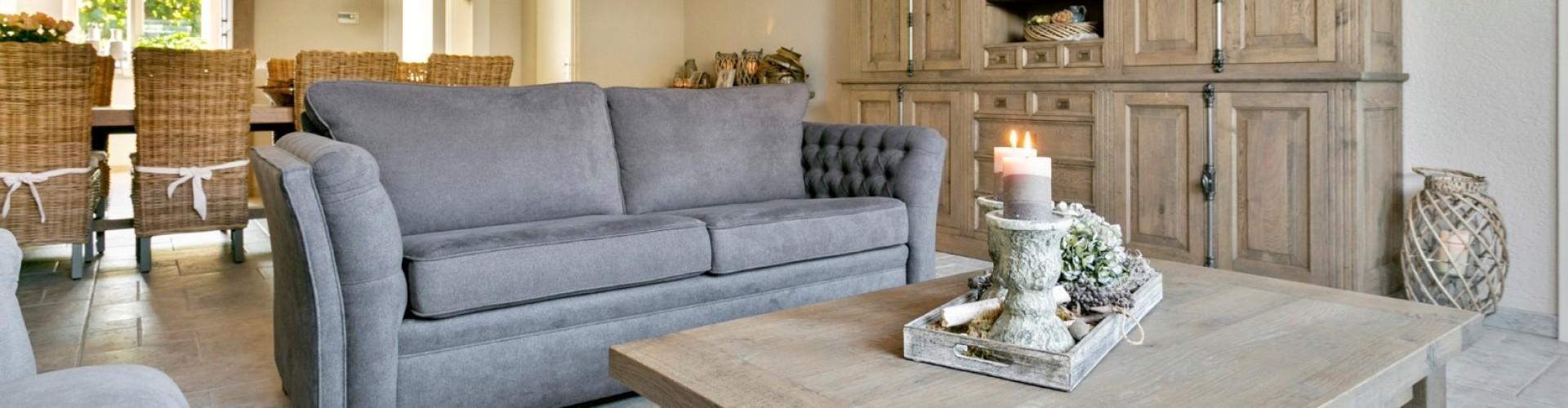 Eiken meubels op maat voor landelijk interieur