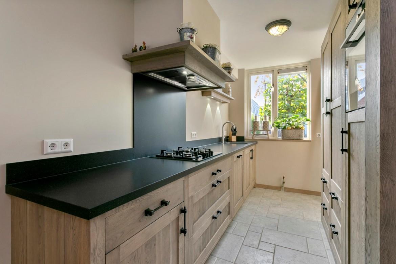 Achterwand keuken graniet