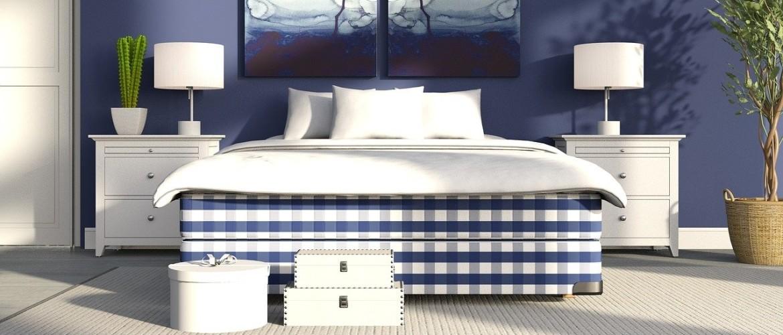 Landelijke nachtkastjes naast uw landelijke bed