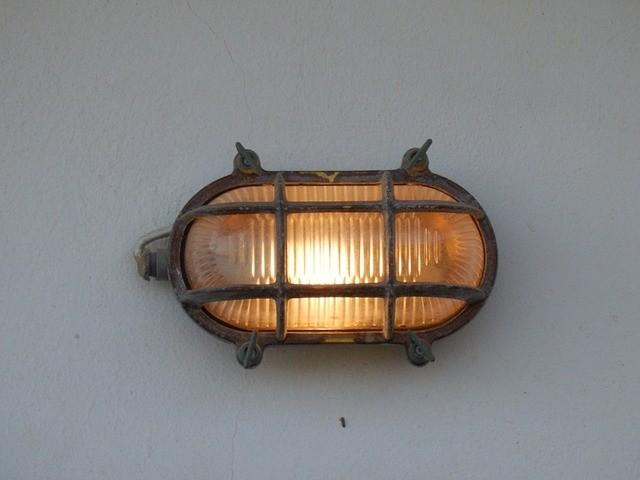Landelijke buitenlamp