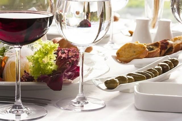Landelijke keuken wijnkoelkast