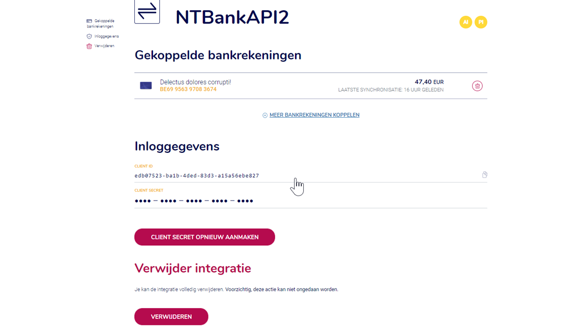 Bankkoppeling Business Central 2