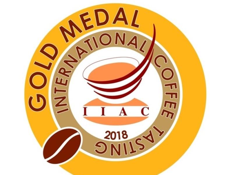 Golden metal international coffee tasting