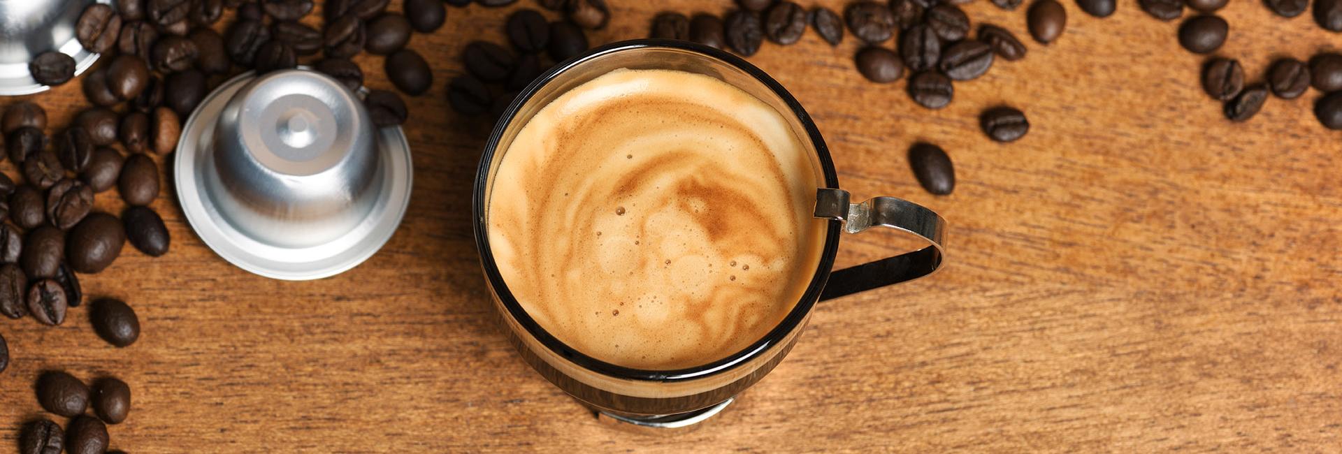 Koffie zetten met cups