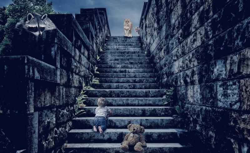 Nachtmerrie kind