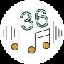 De Numsy Rest heeft 36 Natuurlijke geluiden