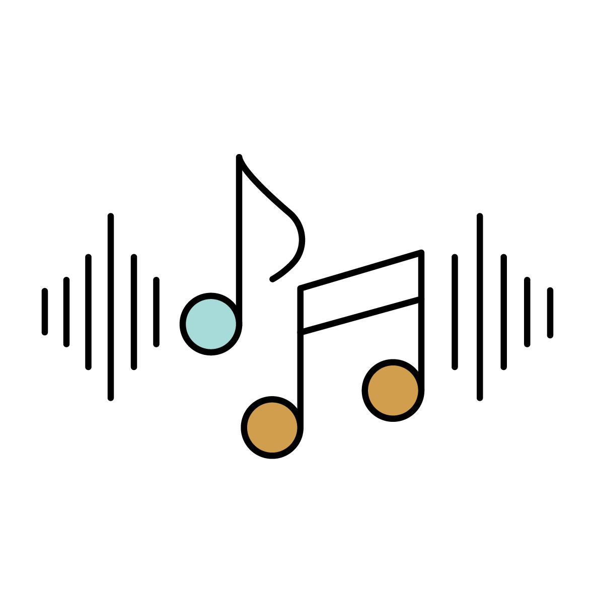 Natuurlijke geluiden met white noise