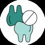 Het anti knars bitje van Numsy helpt tegen tandenknarsen