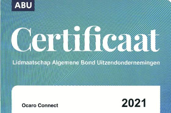Certificaat ABU