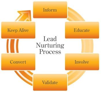 lead nurturing proces