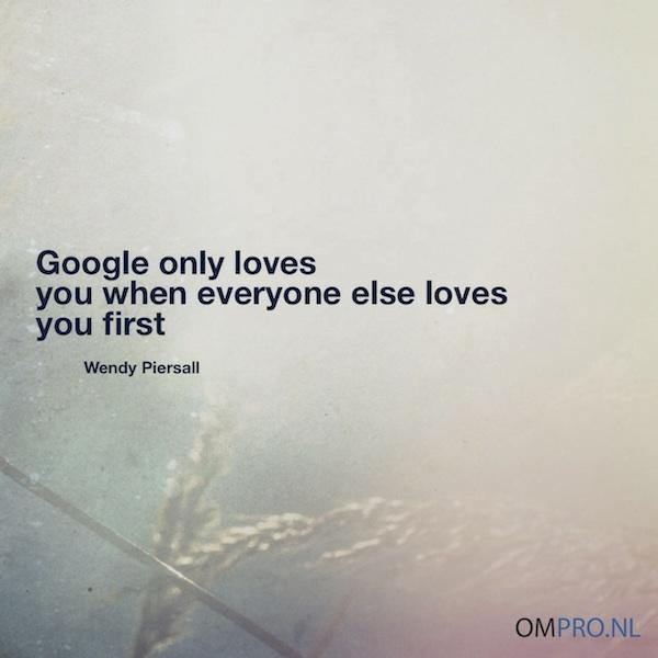 Google loves your website