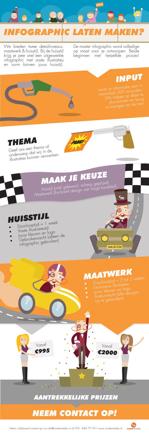 Professionele infographic