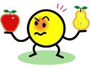 appels en peren vergelijken SEO