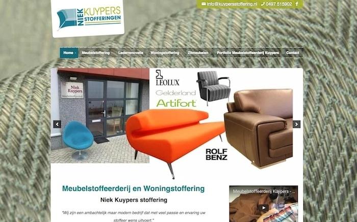 SEO meubelstoffeerderij N. Kuypers