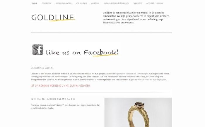 SEO optimalisatie Goldline