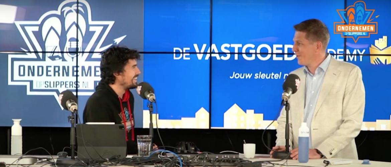 Slippertje 32: Passief inkomen genereren door investeren in vastgoed met Martijn van den Berg
