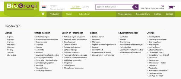 assortiment biogroei website