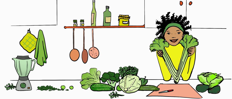 Het groene dieet! Hoezo dan?
