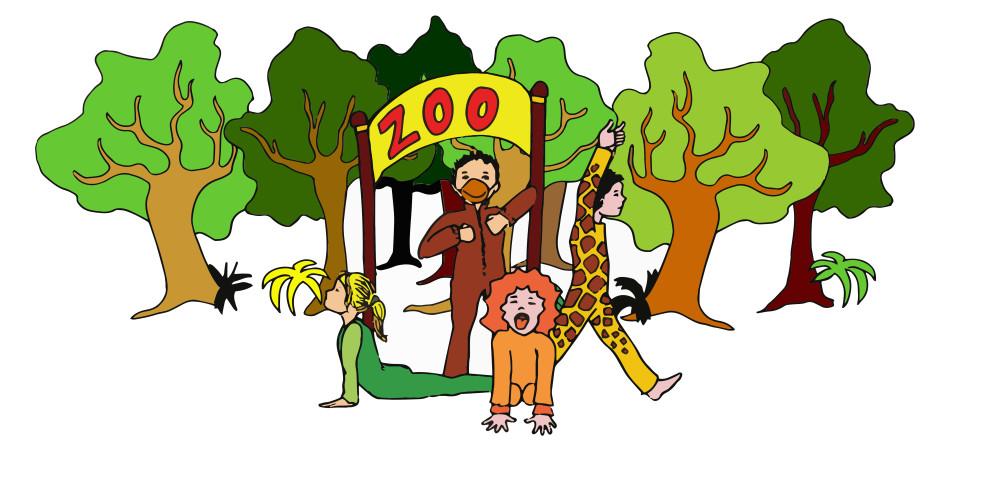 kinderyoga dierentuin avontuur