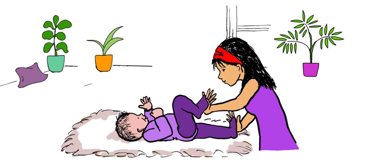 Verbinden met je baby: hoe doe je dat met yoga?