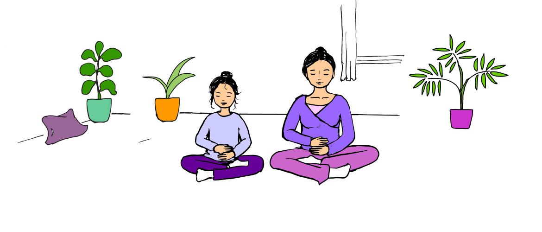 Hoe doe ik thuis yoga met mijn kind?