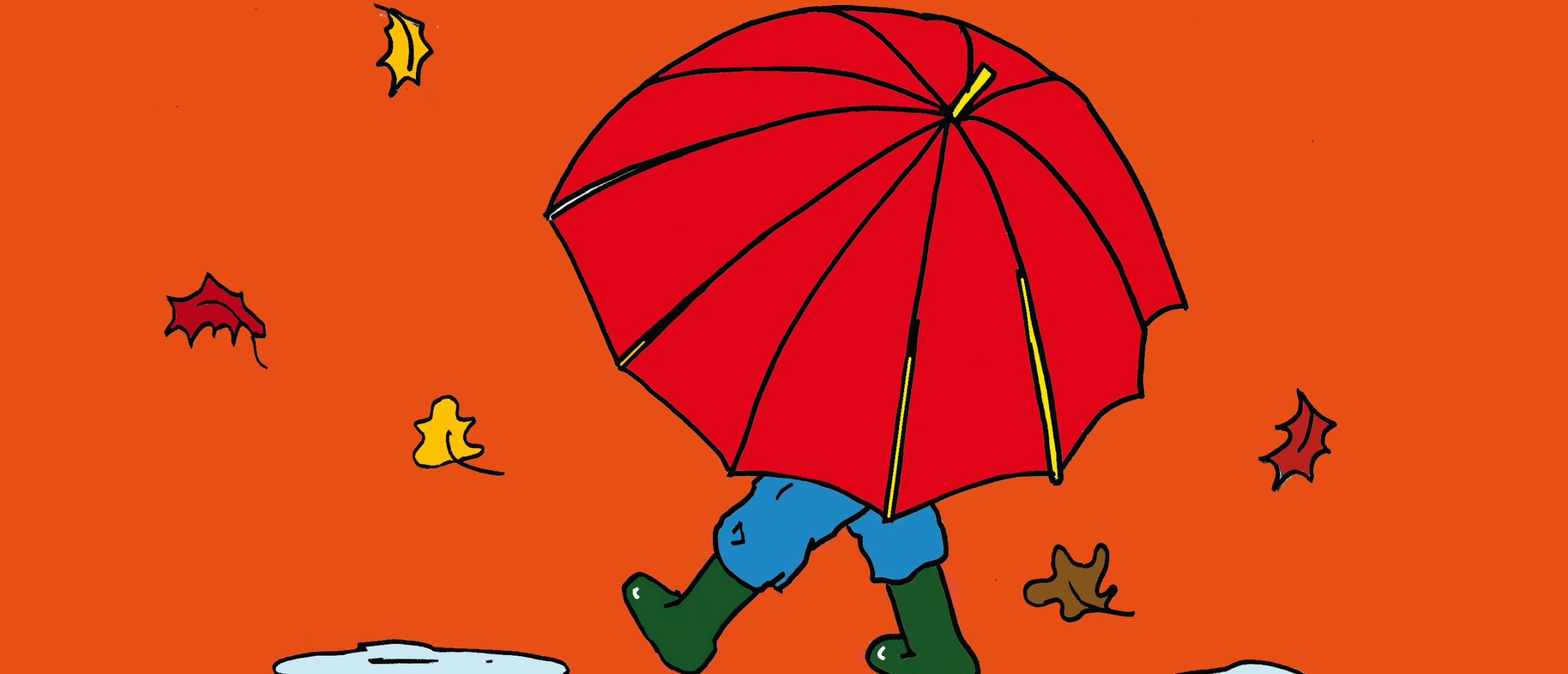 regen-nabootsen kinderyoga