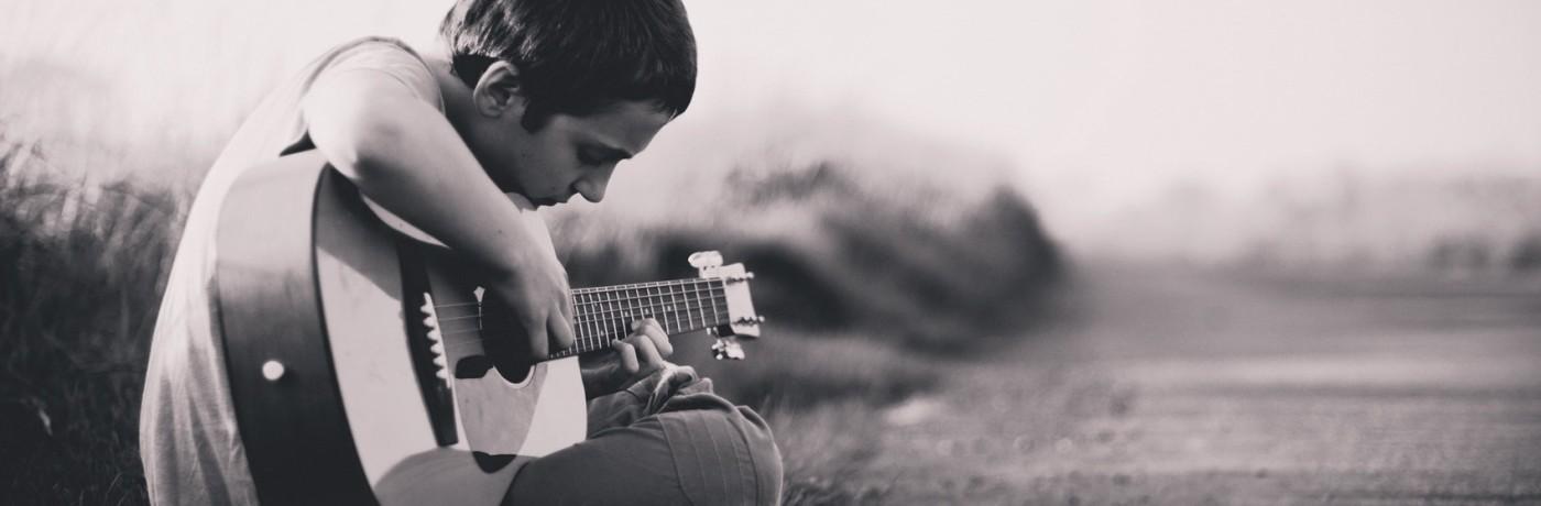 B Akkoord gitaar