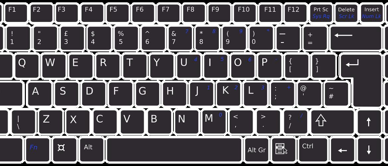 Keyboard op de computer spelen
