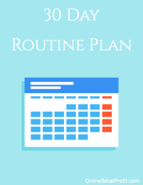 30 Day Routine Plan for Google Ads by Online Retail Profit