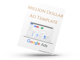 Million Dollar Ad Template Google Ads