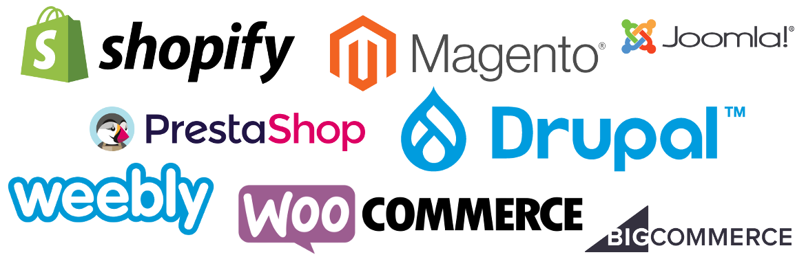 Google Ads Training for Shopify, Magento, Joomla, Prestashop, Drupal, Weebly, WooCommerce and BigCommerce