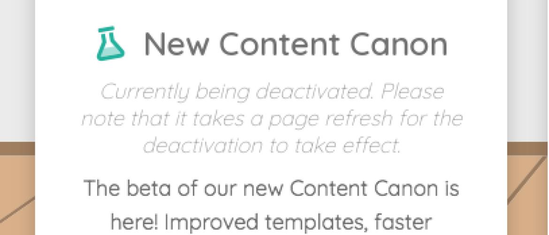 Overstappen op het nieuwe Content Canon van Phoenix