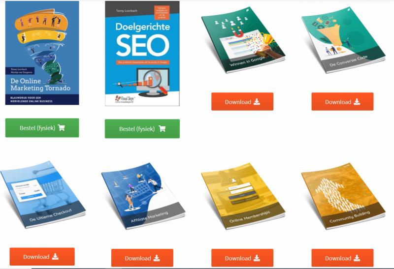 In de kennisproducten die IMU uitgeeft kun je alles vinden over online marketing en de tools van IMU!