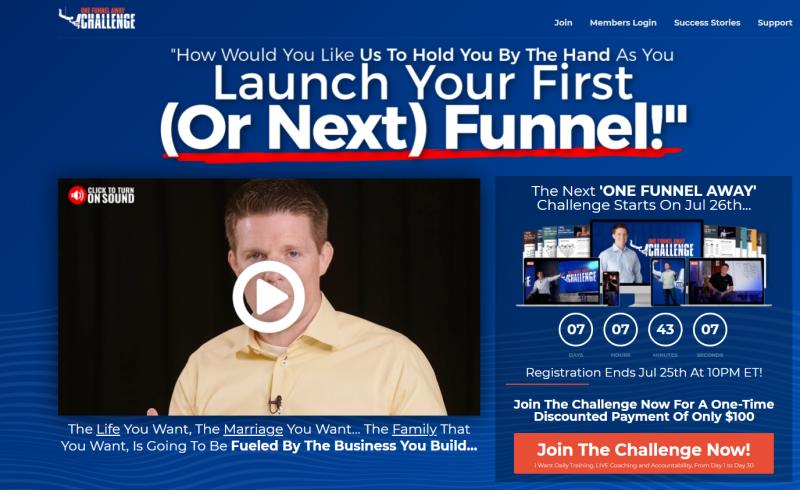 Maak een Clickfunnels Funnel voor jouw online business en heb een lopend bedrijf in minder dan 30 dagen! Heerlijke actie en erg inspirerende content van Russell Brunson en het team van Clickfunnels