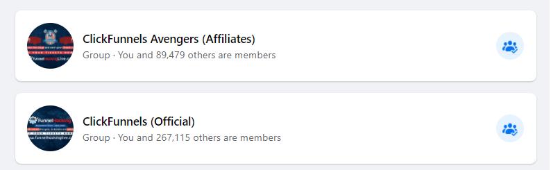 In de Clickfunnels Socials social media groepen kun jij funnel hackers en affiliates vinden die je kunnen helpen met je online marketing strategie voor Clickfunnels!