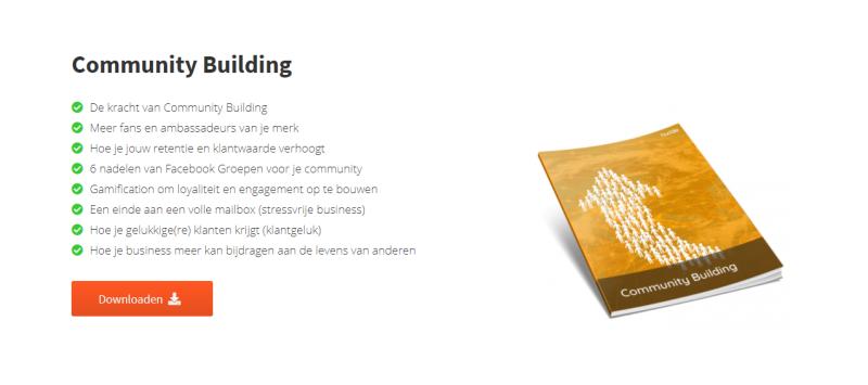 In deze Community Building E-book van IMU Leer je alles over het bouwen van sterke communities!