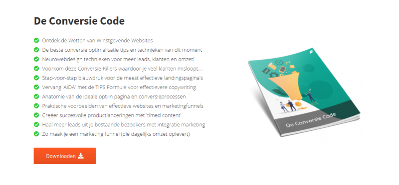 In dit Conversie Code E-book van IMU leer je alles over het optimaliseren van jouw website en online business.