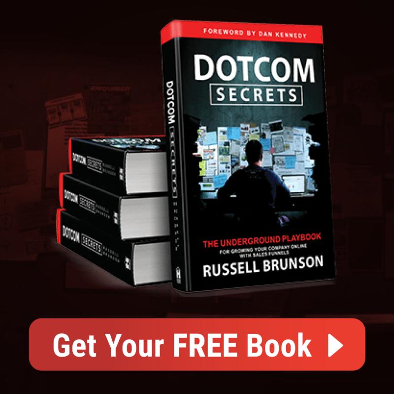 Zoek je een Clickfunnels handleiding? Dan is DotCom Secrets het boek wat jou alle funnel strategie leert die jij via clickfunnels kunt toepassen!