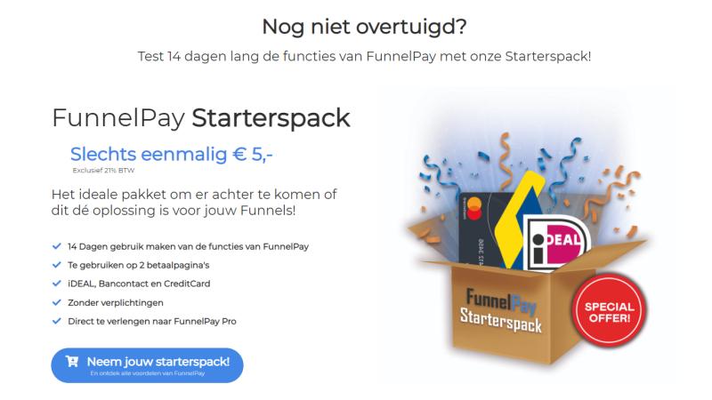 Gebruik Funnelplay voor Clickfunnels betalingen zodat jij op tijd en makkelijk over jouw geld beschikt. Je kunt Funnelpay 14 dagen gratis testen en direct aansluiten op Clickfunnels via deze link