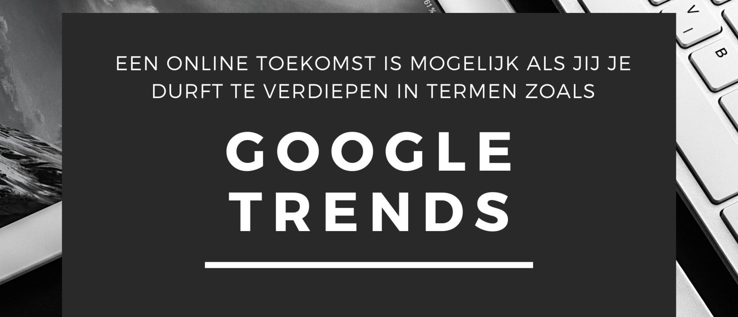 Google Trends Marktonderzoek