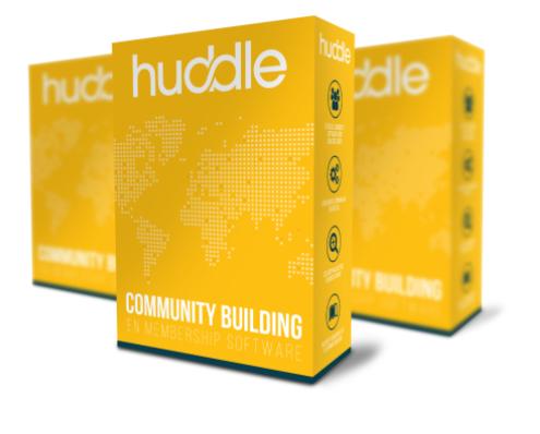 Met Huddle bouw jij direct een e-learning community met online cursussen en een forum. Huddle is een sterk systeem waarmee jij jouw online business in no-time opstart!