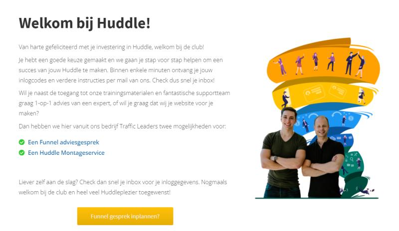 In de Huddle Review staat een stappenplan om jouw online community via Huddle te installeren. Doe er je voordeel mee!