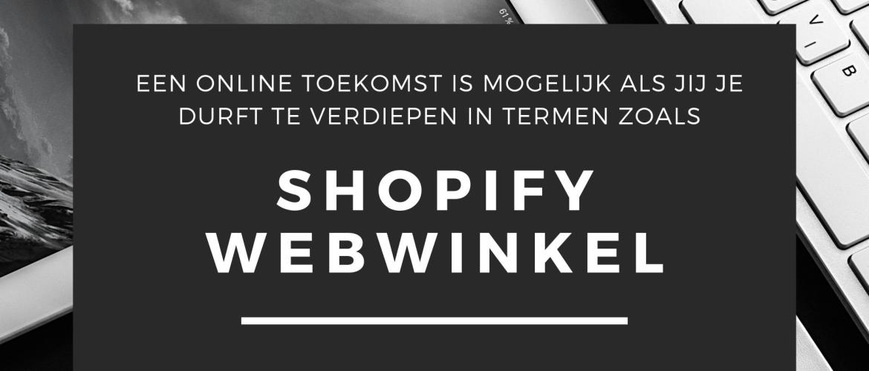 Shopify Webwinkel Tutorial / Handleiding