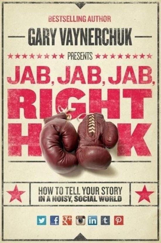 Social Media Marketing kun je leren via dit boek van Gary Vaynerchuk (Jab, Jab, Jab, Right Hook!). Hierin beschrijft hij hoe je social media marketing via de bekende platformen kunt toepassen om meer klanten te bereiken!