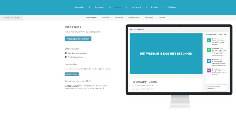 Wil jij een Webinar Geek Webinar Volgen? Dat kan handig door je in te schrijven via E-mail. WIl jij mensen JOUW webinar laten volgen? Dan kun je het beste een account nemen!