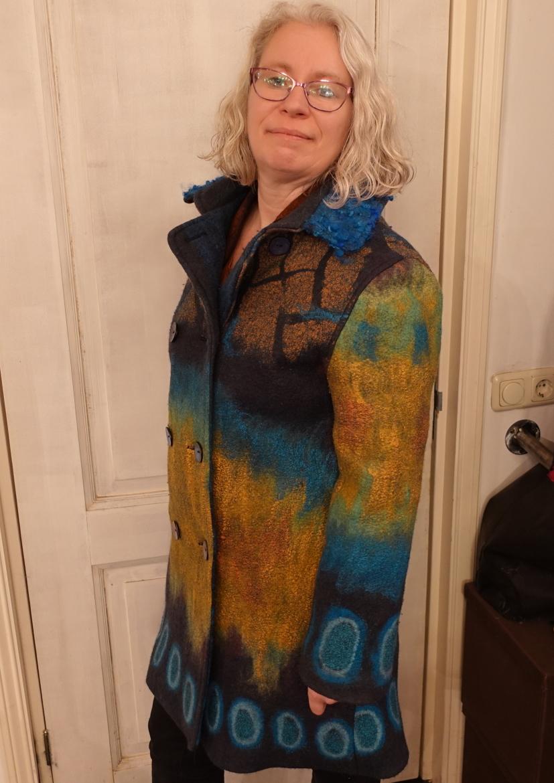 winterjas handmade