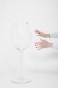 leeg glas wijn, geen wijn drinken, alcohol coach