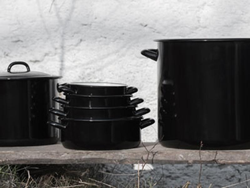 Riess emaille pannen en potten uit Oostenrijk